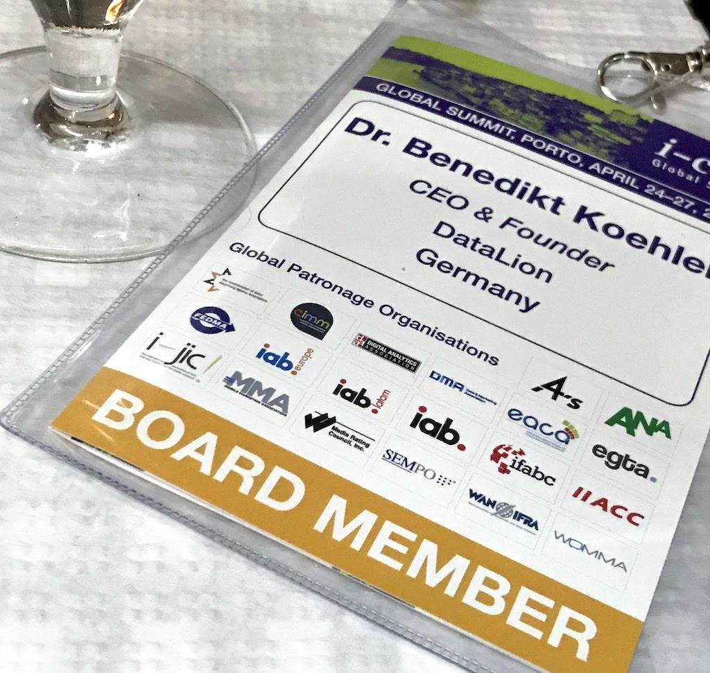 DataLion auf dem ICOM Global Summit 2017