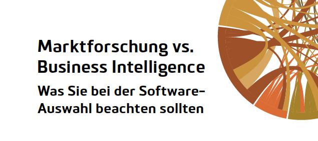 Marktforschung und Business Intelligence