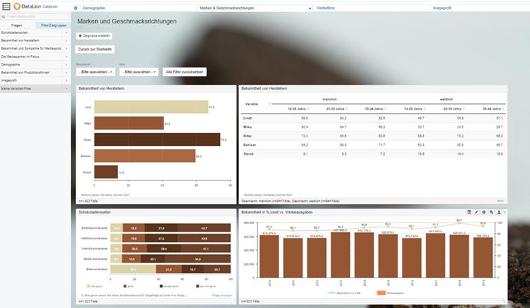 DataLion 1.10.4 automatische, dynamische und flexiblere dashboard