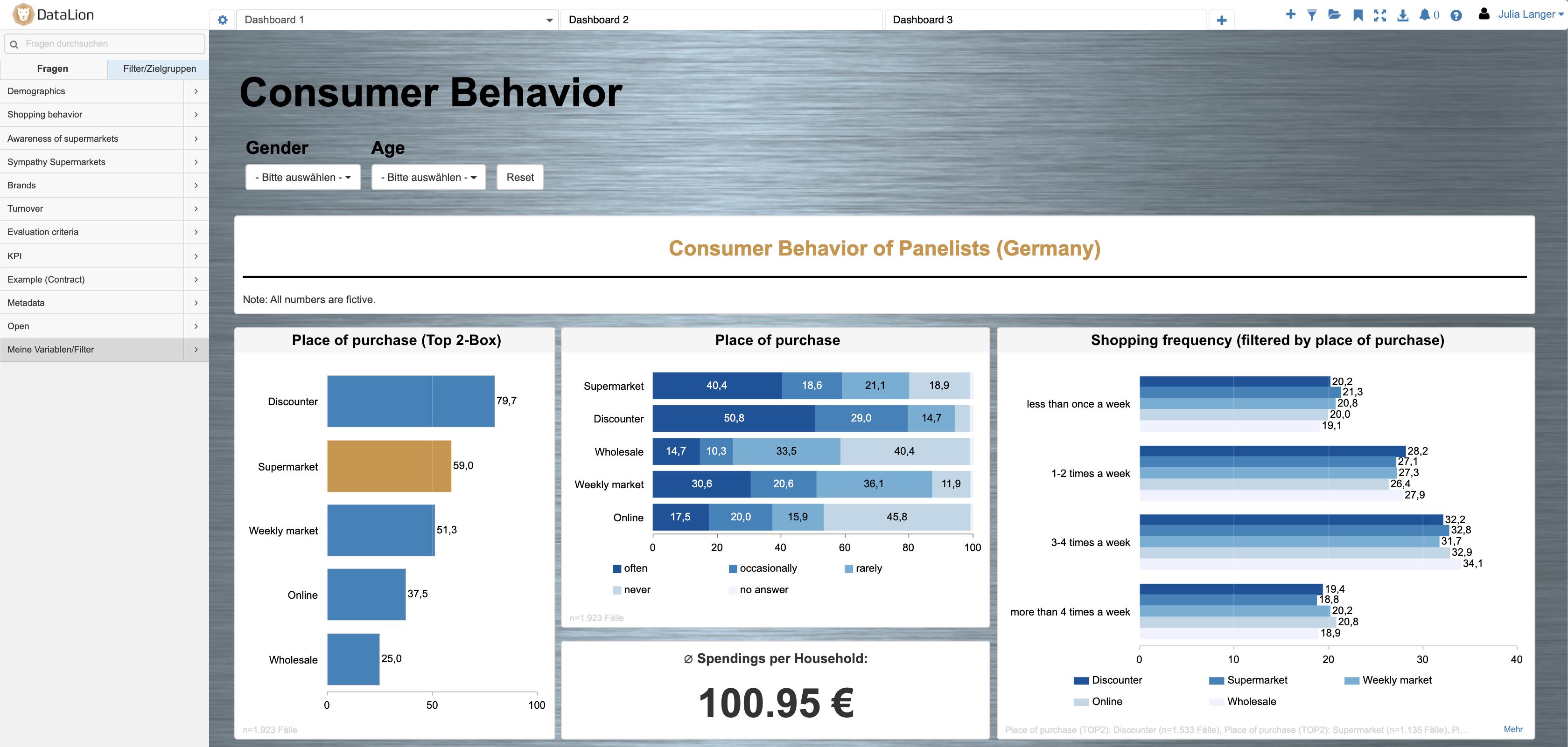 DataLion KPI Dashboard-Software update